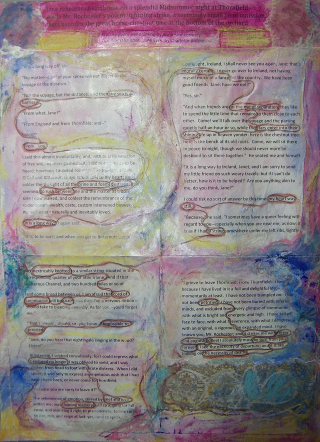Anna Montgomery, Erasure Poem
