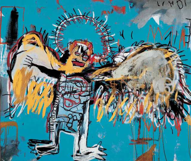 Fallen Angel by Jean-Michel Basquiat, 1981