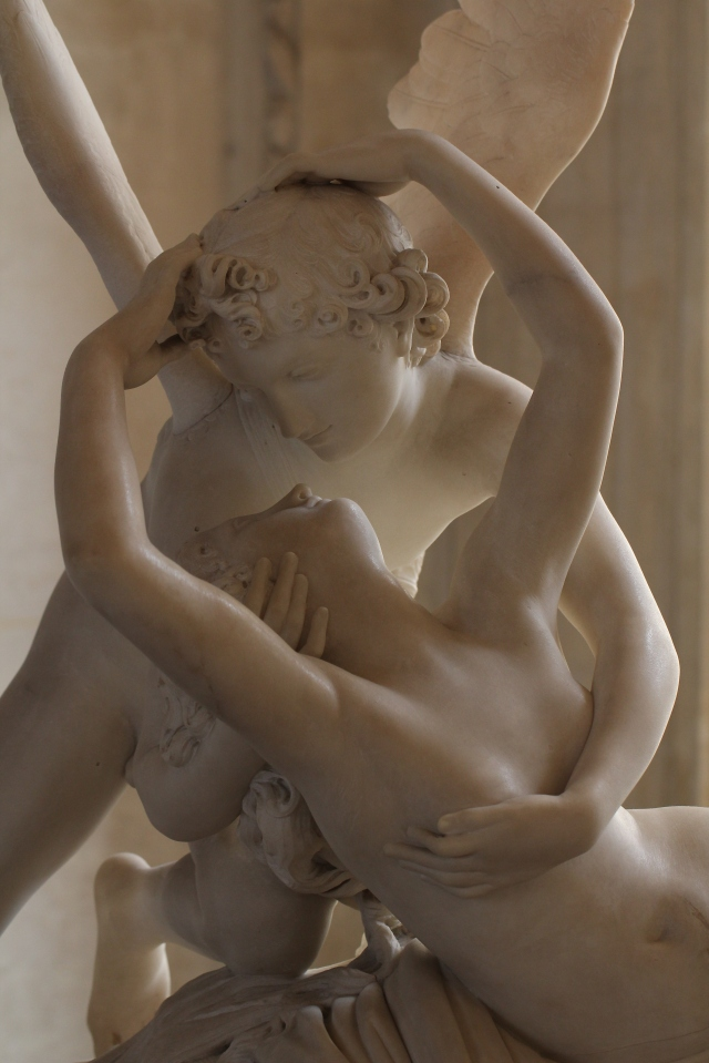 Psyche Revived by Eros' Kiss by Antonio Canova